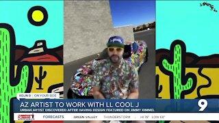Arizona artist to work with LL Cool J