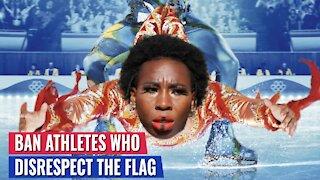 CRENSHAW: BAN ATHLETES WHO DISRESPECT THE AMERICAN FLAG