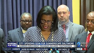 City announces new summer program for youth.