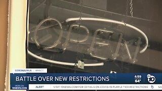Battle over purple tier restrictions