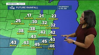 Milwaukee weather Monday: Mostly cloudy and mild