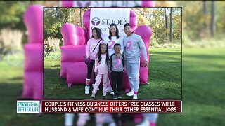 Couple's fitness business offers free online classes