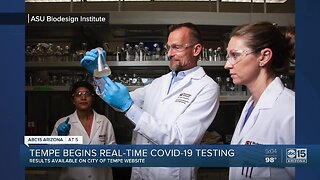 Tempe begins real-time COVID-19 testing