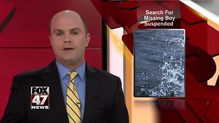 Search suspended for teen missing in Muskegon River