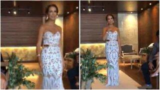 Bride's emotional sign language performance for deaf groom
