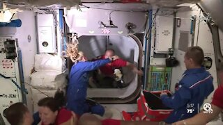 SpaceX's Dragon module docks with International Space Station