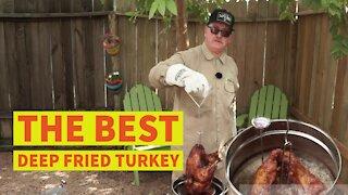 The Best Deep Fried Turkey