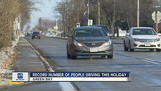 Record number of people driving this holiday