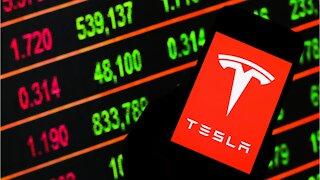 Tesla Hits Record High