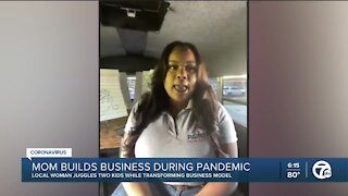 Metro Detroit mom builds business during pandemic