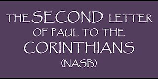 The Second Letter of Paul to the Corinthians (NASB)