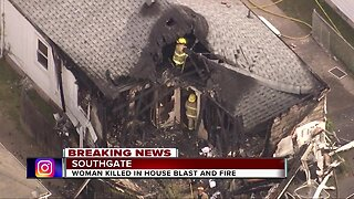 Woman killed in Southgate house explosion