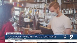 Governor Ducey approves to-go cocktails