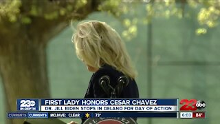 Recapping First Lady Dr. Jill Biden's visit to Delano