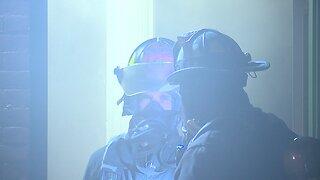 Firefighter injured battling building fire in Cleveland's Tremont neighborhood Sub-Headline