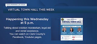 Clark County Commissioners to hold town hall on eviction moratorium