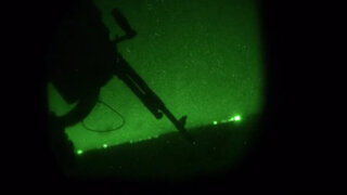 U.S. Navy Aircrew conduct Call For Fire training during Emerald Warrior-21