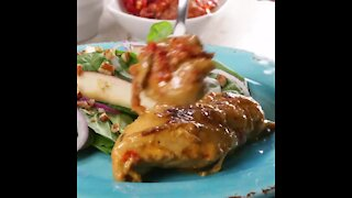 Parmesan Chicken with Tomato