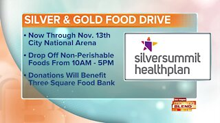 """The 4th Annual """"Silver and Gold"""" Food Drive"""