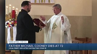 Father Michael Cooney dies at 72