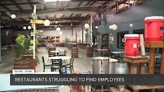 Restaurants struggle to find employees