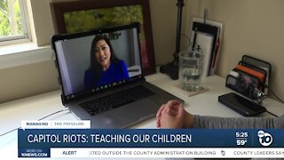 Talking about Capitol riots with our kids