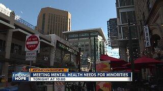 Meeting mental health needs for minorities