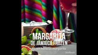 Frozen Jamaica Margarita