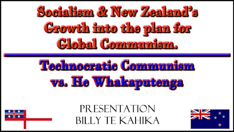 2021 AUG 16 Technocratic Communism vs He Whakaputenga, Billy TK and Vinny Eastwood