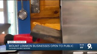 Mount Lemmon businesses reopen to the public