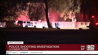 Police shooting near Interstate 10 and Baseline Road
