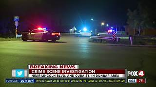 One dead at crime scene investigation in Dunbar community