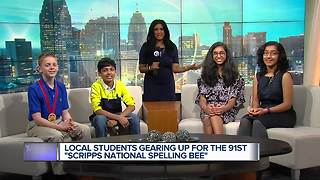 Metro Detroit students prepare for 91st Scripps National Spelling Bee