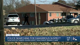 Police searching for dangerous suspect
