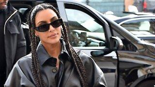 Kim Kardashian West Protesting Facebook