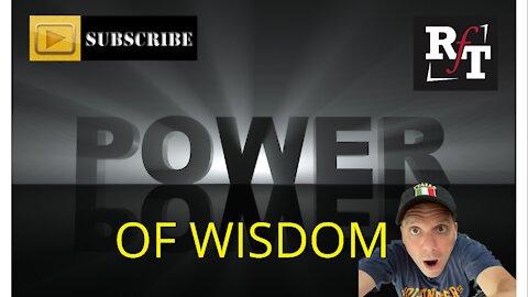 POWER OF GOD'S WISDOM