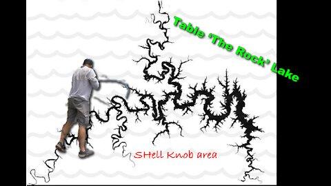 Table Rock Lake (Shell Knob area) May 12th