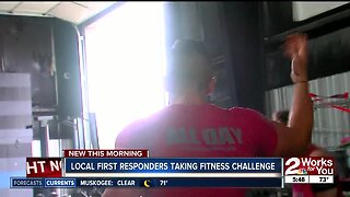 local first responders taking fitness challenge