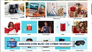 Amazon cyber Monday top sellers