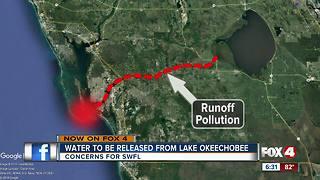 Officials begin releasing water from Lake Okeechobee