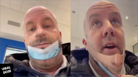 Man Pranks People With Realistic Face Mask