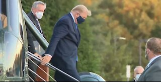Latest on President Trump's health after COVID-19 test