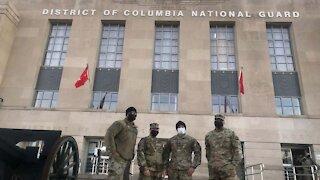 Nevada National Guard members assist women in bad crash in Washington, D.C.