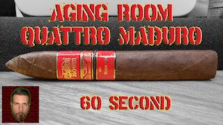 60 SECOND CIGAR REVIEW - Aging Room Quattro Maduro - Should I Smoke This