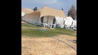 Este video revela verdadera ocupación de los hospitales modulares de emergencia Covid 19