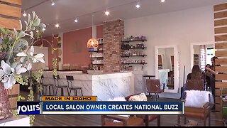 Local salon owner creates national buzz