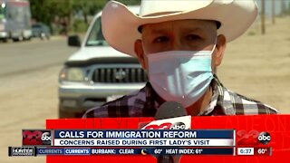 Calls for immigration reform highlighted during first lady's visit to Delano