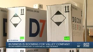 Business booming for Valley company