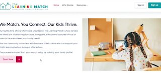 TheLearningMatch helps connect students in need with educators