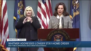 Whitmer addresses boat controversy, gives COVID-19 update